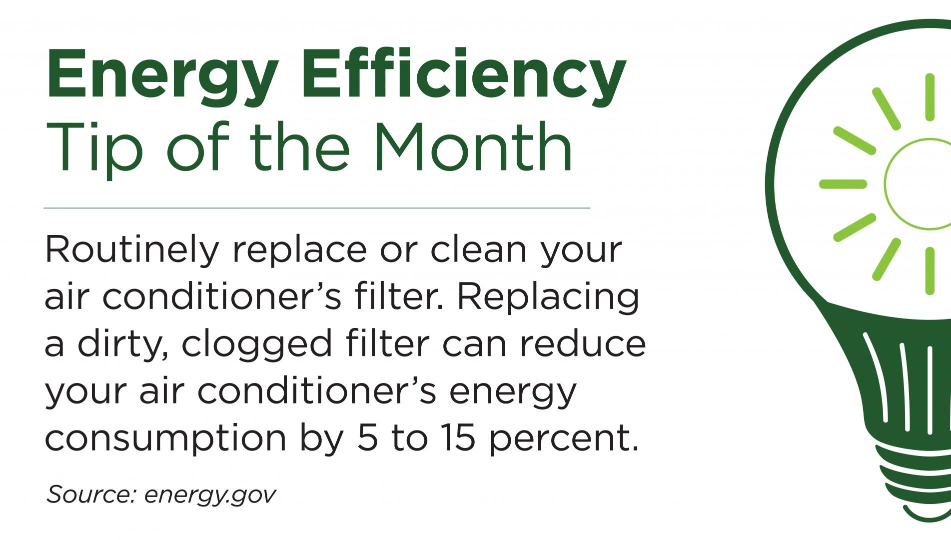 Energy Efficiency Tip